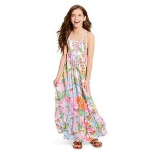 Lilly Pulitzer for Target Girls Maxi Dress M